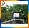 Luz de porta principal da pilha impermeável da liga de alumínio durável da casa