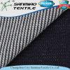 Tissu en denim tricoté à haute qualité de 100 gaufres en coton pour homme