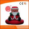 Santa gonflable géante extérieure personnalisée pour le Joyeux Noël H1-003