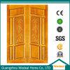 Personnaliser les portes intérieures en bois composées pour des hôtels