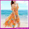 Лета 2015 платье пляжа нового модного повелительниц флористическое шифоновое (D000127)