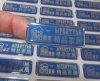 Etiketten van het Naambord van de Verwerking van het kristal de Epoxy