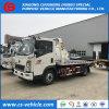 HOWO 작은 3tons 견인 트럭 4t 평상형 트레일러 견인 트럭