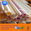 1800c temperatura alta el 99% -99.7% tubos de cerámica del alúmina del tubo del alúmina