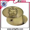 方法デザインベルトの留め金のめっきの骨董品の黄銅