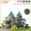 子供が遊ぶことができるように遊園地のセットされる大きい運動場装置