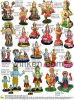 Polyresinのヒンズー教の神の彫像、インドDiwaliの休日のPoojaの製品