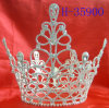 Spettacolo Tiara Crown per la promenade per Princess, Rhinestone Tiara,