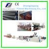 PET-PVC-einzelne Wand-gewölbter Rohr-Produktionszweig