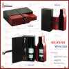 PU Leather Wine Gift Box für 2 Bottles (5764)