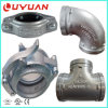 Coude malléable de tuyauterie de fer pour le système de drainage de l'eau