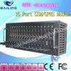 Профессиональные бассеин модема GSM 16 машины большого части SMS Port