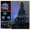 Света рождества праздника импульсных ламп освещения цветастые