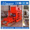 Qtj4-26c halbautomatischer Baumaterial-führender Betonstein, der Maschine herstellt