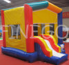 Buntes Residential Jumping House Moonwalk Inflatable Bouncer für Kids