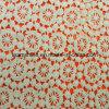 Шнурок ткани вышивки хлопка 100 способа водорастворимый