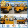 Double cabine Jmc 2 tonnes de boum de grue de grue Camion-Montée par roues du camion 6