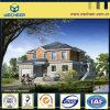 Nuevo chalet de acero ligero certificado SGS del estilo ISO9001 BV