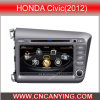 GPS、BluetoothのHonda Civic (2012年)のための特別なCar DVD Player。 を使ってA8 Chipset Dual Core 1080P V-20 Disc WiFi 3Gのインターネット(CY-C132)