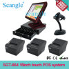 Стильные 15 '' All в POS Terminal One Capacitive Touch Screen
