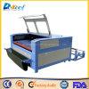 Tête de découpage de Automatique-Alimentation de double de machine de découpage de laser de CO2 du textile Dek-1810