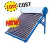 Nicht druckbelüfteter Niederdruck-Solarwarmwasserbereiter-evakuierter Gefäß-Sonnenkollektor-Solargeysir