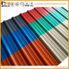 Цветастая плитка толя PVC рифлёная с дешевым ценой