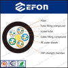 Cable de fibra óptica unimodal del miembro de fuerza central de FRP
