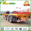 Cimc reboque de 3 chassis do recipiente do esqueleto 40FT dos eixos de Fuwa/BPW