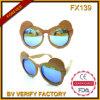 Óculos de sol de madeira da alta qualidade bonito e popular de Fx139 para o miúdo
