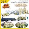 (a) 4T/Hの生物量の米の外皮のわらの餌の機械装置の生産ライン