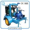 Hohe Fluss-einzelnes Stadiums-zentrifugale Bewässerung-Pumpe mit Dieselmotor