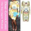 Mini robe d'impression magnifique de fleur
