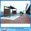 Schede di pavimentazione composite di plastica di legno amichevoli di WPC Eco/Decking