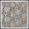 Cordón químico del guipur de la flor del cordón del bordado del cordón del guipur de la sensación del algodón