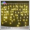 Luces de hadas de la Navidad blanca del carámbano al aire libre caliente de la decoración LED