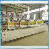 Machine en plastique de trappe de guichet du cadre UPVC de vinyle de PVC de soudure