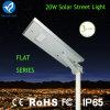 고아한 Bluesmart 1개의 LED 20W 태양 가로등에서 모두