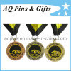 Medals in lega di zinco con Soft Enamel Color per Swimming Club