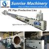 Linha de produção máquina da tubulação do PE do nascer do sol da tubulação de água do PE