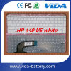 Клавиатура тетради компьтер-книжки для HP Probook 440 441 без рамки