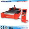 Corte de alta velocidad del laser de la fibra del CNC para el metal