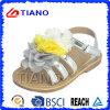 Сандалии PVC Crastal нового способа плоские для девушки (TNK50016)