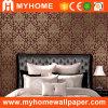 Revêtement de mur profondément gravé en relief de PVC pour la décoration à la maison