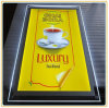 Memoria Advertizing Acrylic Light Box del caffè con A3 Picture