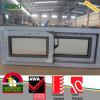 Janela de deslizamento interior do perfil plástico de madeira do PVC da cor