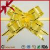 Линия PP золотистая связала проволокой смычок тяги бабочки тесемки