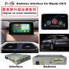 車HD 2014-2016年のマツダのための人間の特徴をもつGPSの運行フラッシュ16GBビデオインターフェイスはCx9 Bt/WiFi/DVDをサポートする