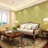 Papeles pintados clásicos europeos del PVC de la decoración del hogar del estilo