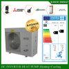 La sala 12kw/19kw/35kw del tester del riscaldamento di pavimento di inverno della Germania -25c 100-300sq disgela il sistema spaccato del riscaldatore di acqua della pompa termica di sorgente di aria di Evi